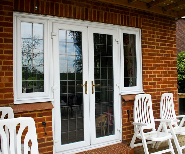 Cheap upvc french doors exterior for Inexpensive french doors